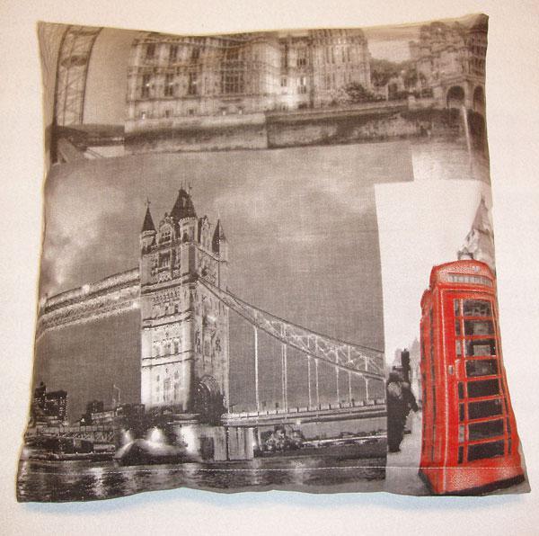 Povlak na polštářek Londýn 40x40 cm