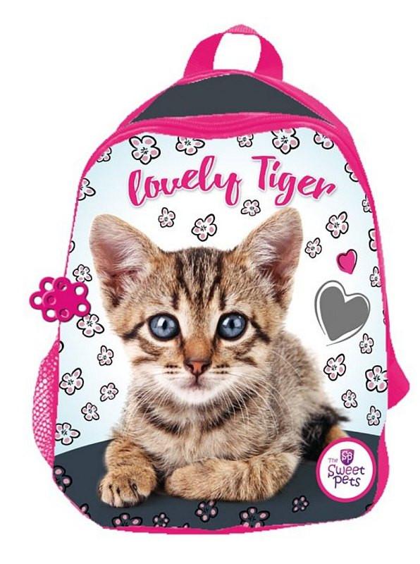 Dětský batůžek Sweet Pets Kotě pink 29 cm