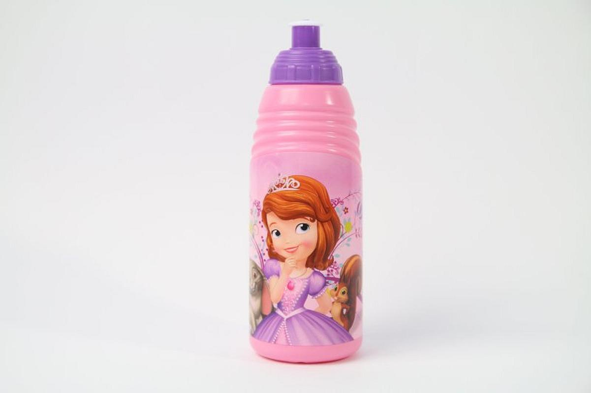 Láhev na pití Princezna Sofie první  růžová