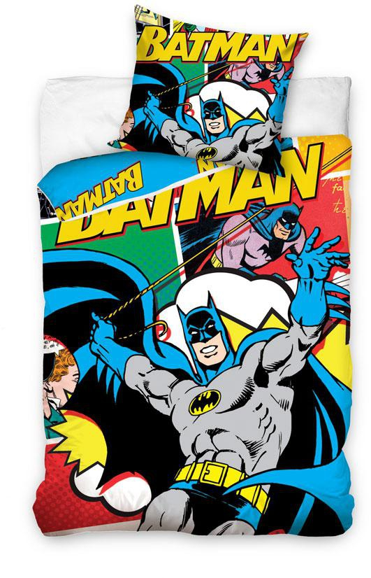 Povlečení Batman komix 140x200
