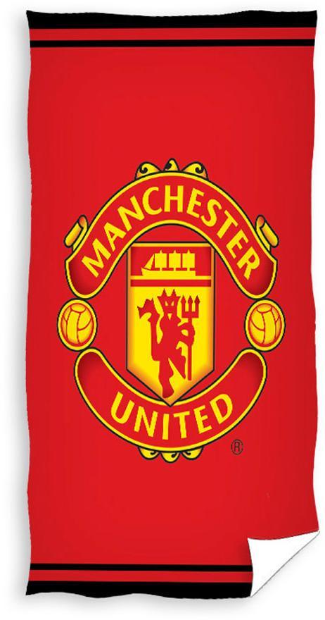 Dětský ručníček Manchester United logo 40x60 cm
