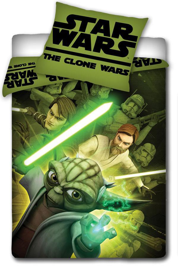 Povlečení Clone Wars Joda 140x200