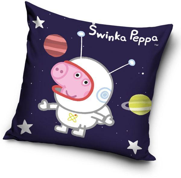 Polštářek Peppa Pig Kosmonaut 40x40 cm