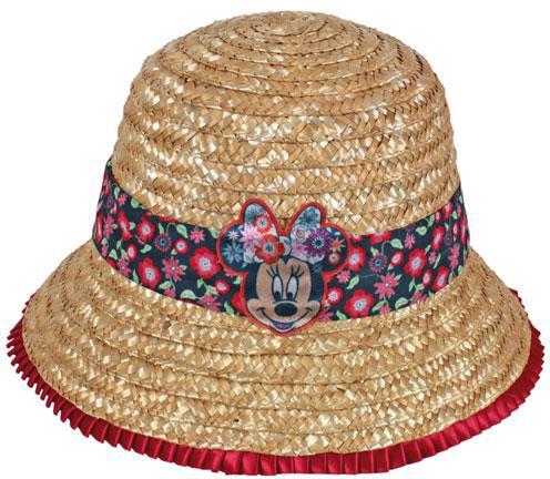 Slaměný klobouk Minnie Mouse