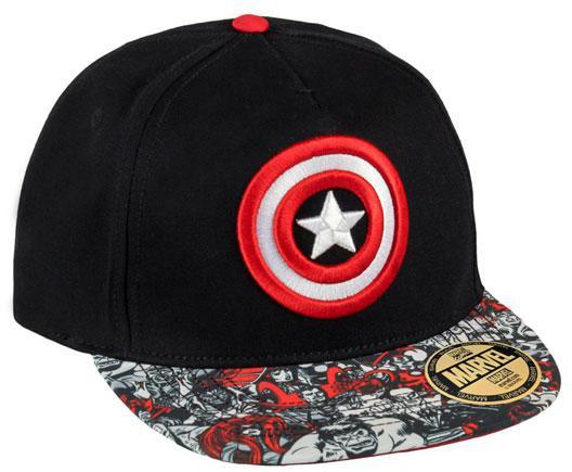 Kšiltovka Avengers black vel. 58