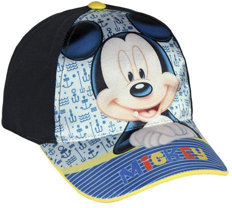 Kšiltovka Mickey modrá vel. 54