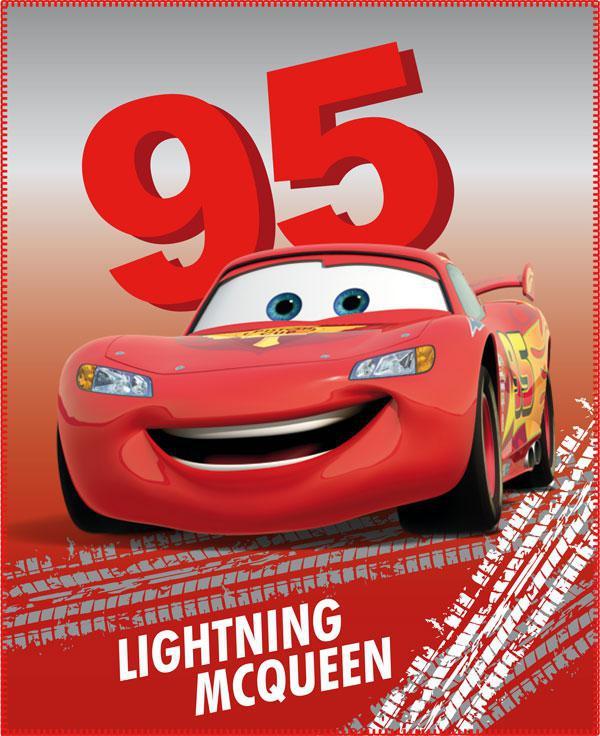 Fleece deka Cars Fastest 110x140 cm