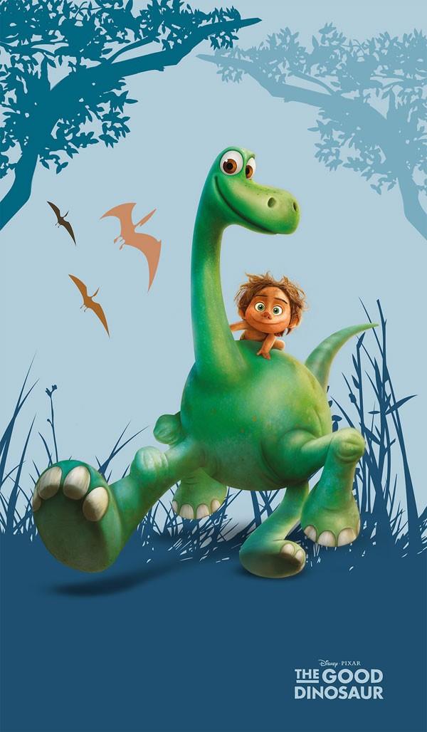 Osuška Hodný Dinosaurus 70x120