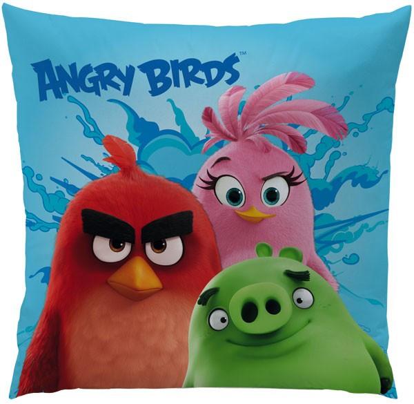 Polštářek Angry Birds Exploze 40x40 cm