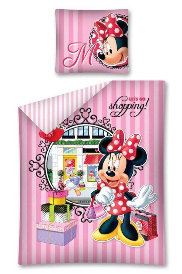 Povlečení Minnie Shopping 140x200