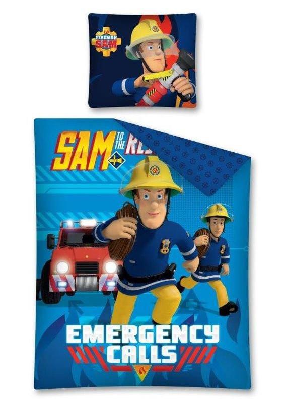 DETEXPOL Povlečení Požárník Sam Emergency  Bavlna, 140x200,  cm