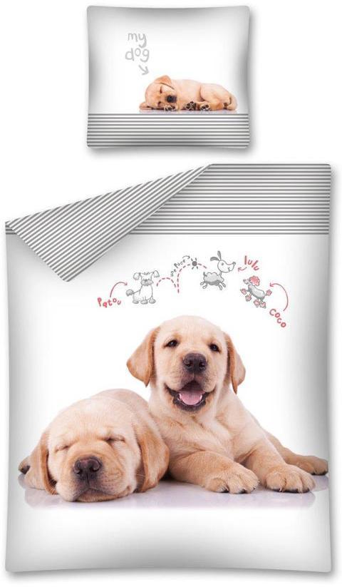 Povlečení Sweet Animals My Dog 140x200, 70x80 cmcm