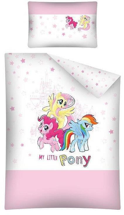 Povlečení do postýlky My Little Pony 100x135, 40x60 cm