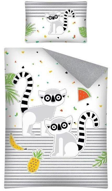 Povlečení do postýlky Lemur 100x135, 40x60 cm