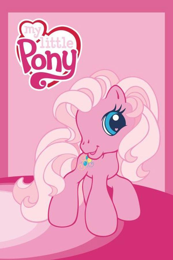 Dětský ručník My Little Pony růžová 60x40 cm