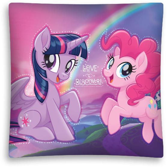 Povlak na polštářek My Little Pony micro 40x40 cm