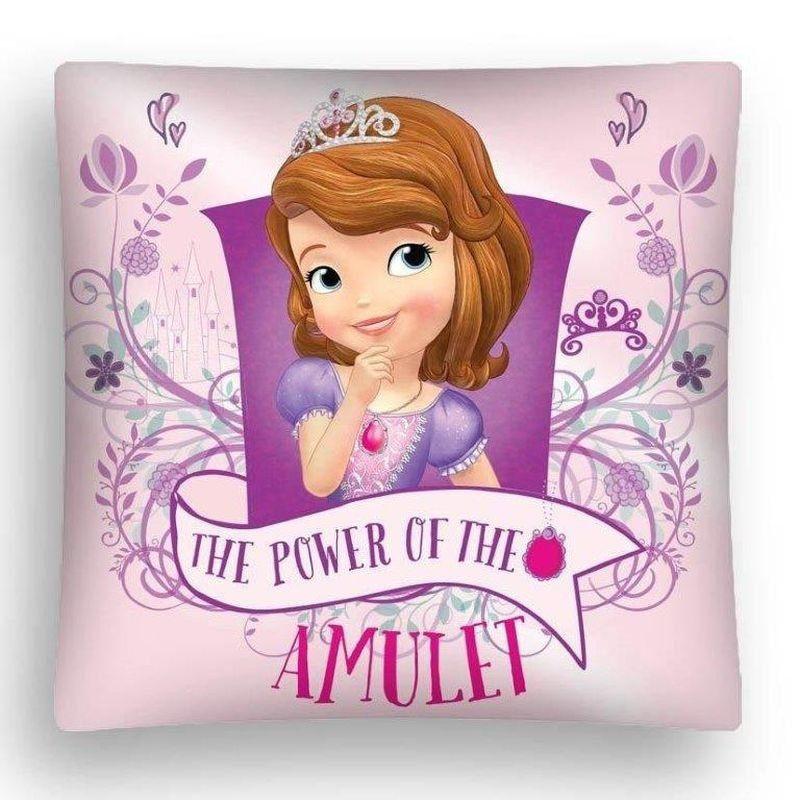 DETEXPOL Povlak na polštářek Princezna Sofie První Amulet micro  Polyester, 40x40 cm