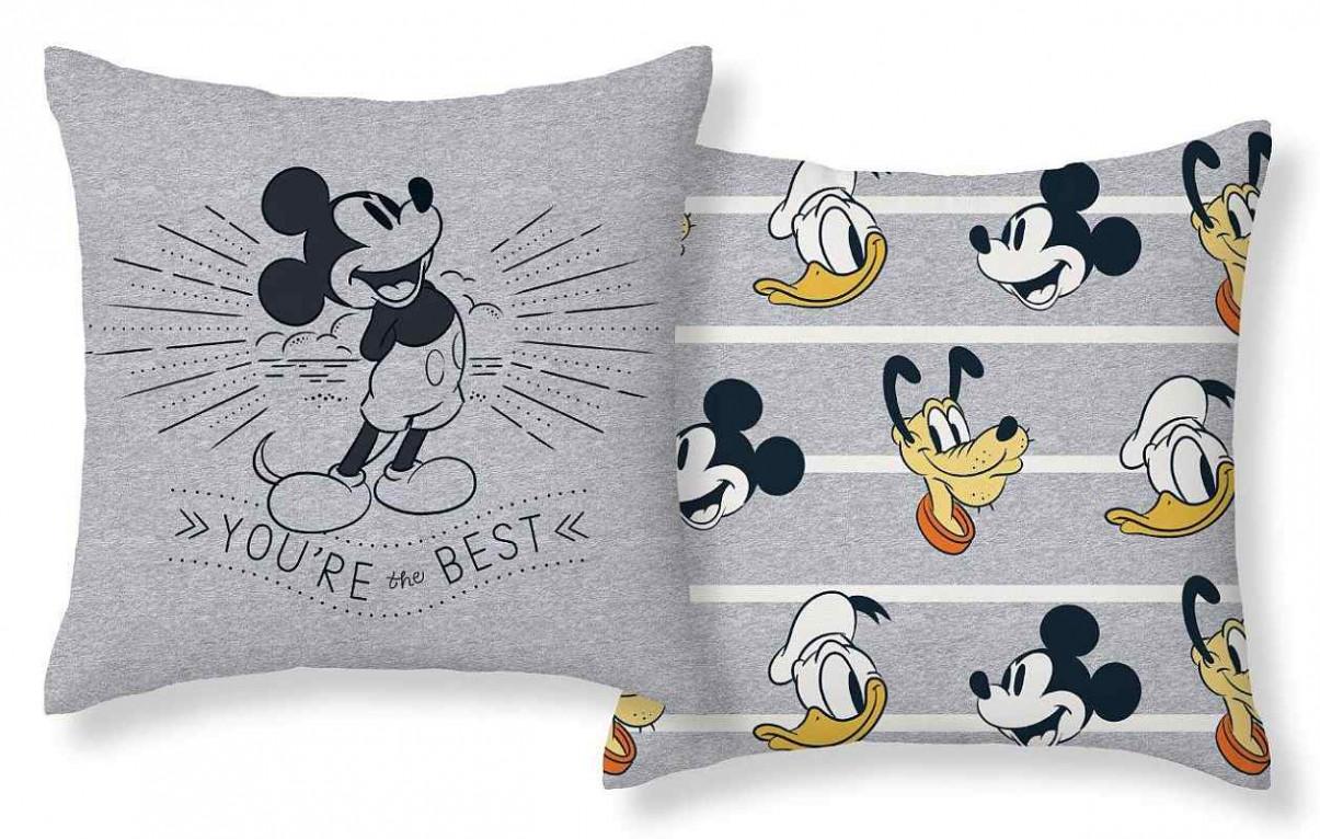 Povlak na polštářek Mickey best micro  Polyester, 40x40 cm
