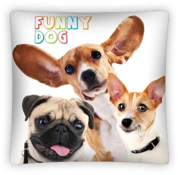 Povlak na polštářek Funny Dog micro 40x40 cm
