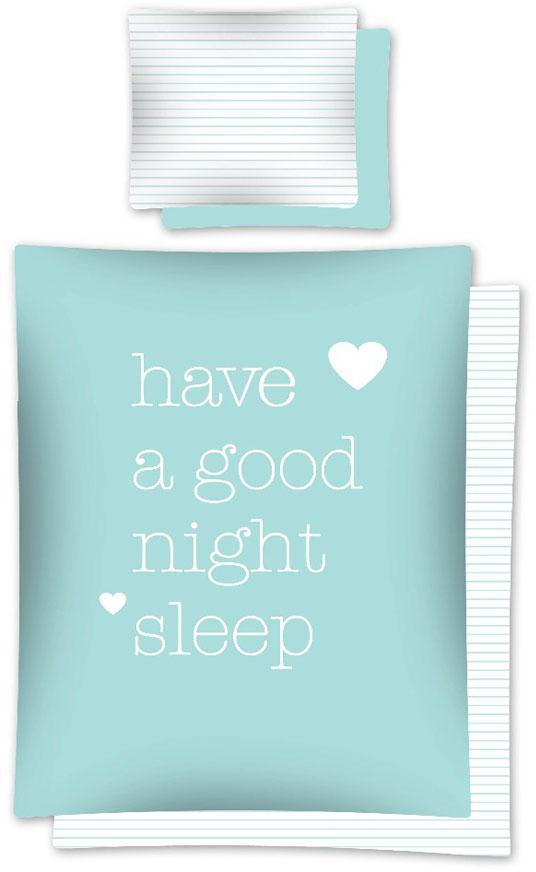 Povlečení Good Night 140x200, 70x80 cm