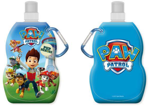 Láhev na pití s karabinou Paw Patrol 330 ml