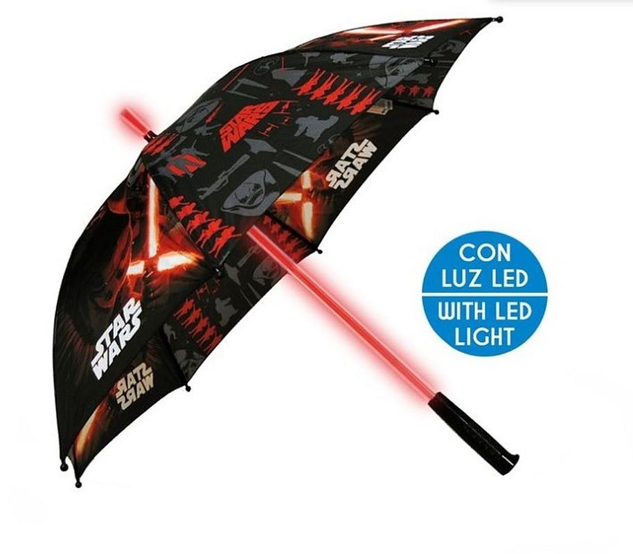 Deštník s LED osvětlením Star Wars Polyester, průměr 85 cm