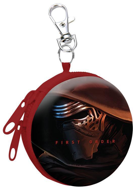 Dětská kovová peněženka s karabinou Star Wars Kylo Ren