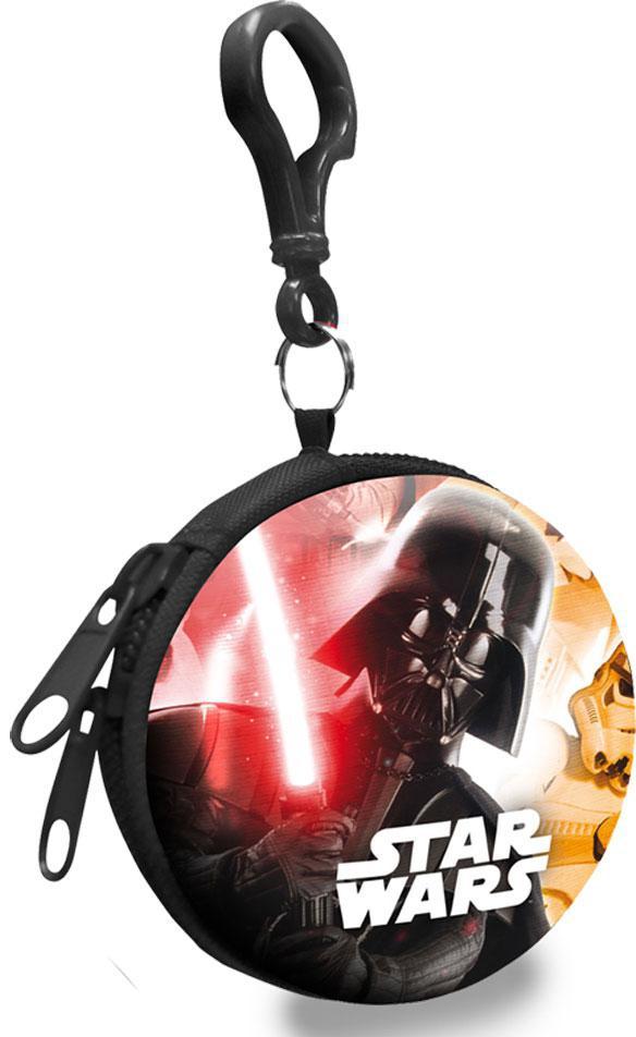 Dětská kovová peněženka s karabinou Star Wars Darth Vader