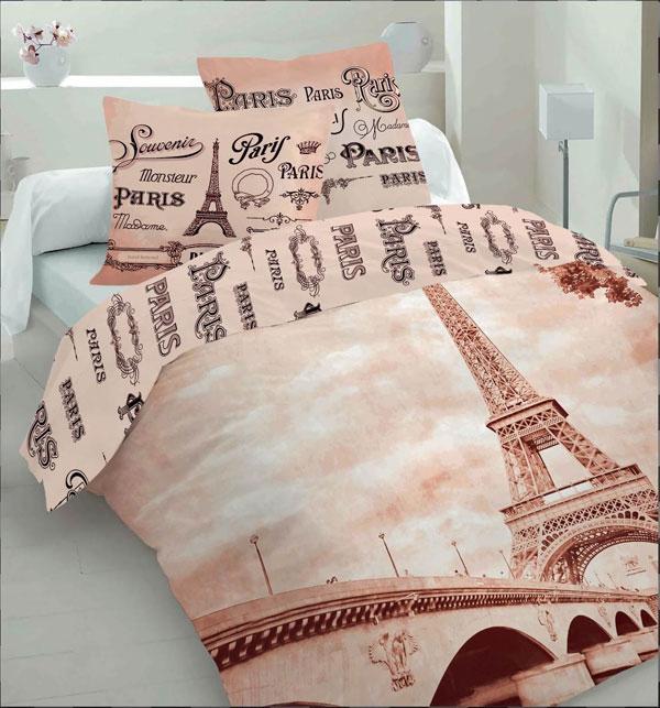 Povlečení Paříž Life Style 220x200, 2x70x80 cm