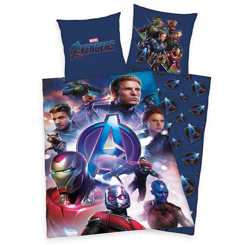 Povlečení Avengers  Bavlna, 140x200, 70x90 cm