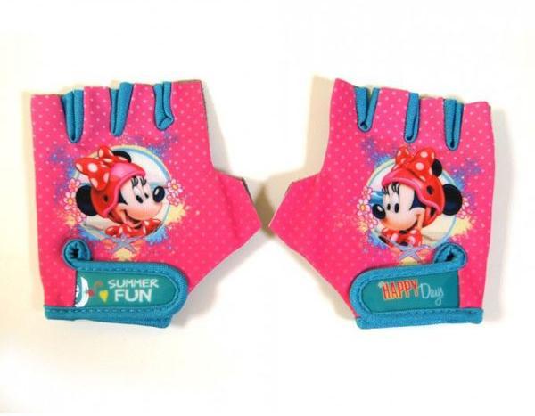 Cyklo rukavice na kolo Minnie Mouse