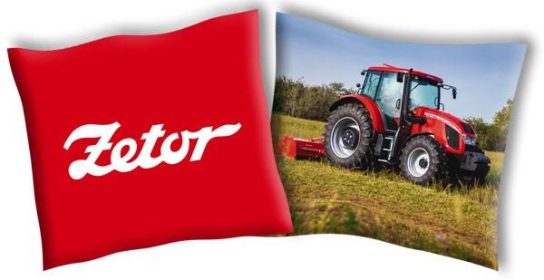 Povlak na polštářek Traktor Zetor 4 40x40 cm