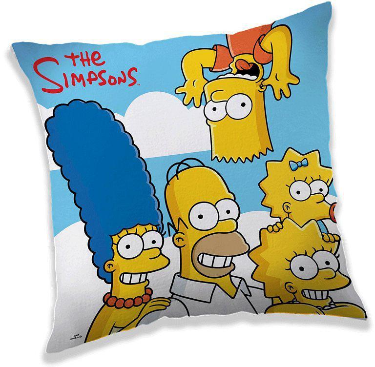 Polštářek Simpsons clouds 40x40 cm