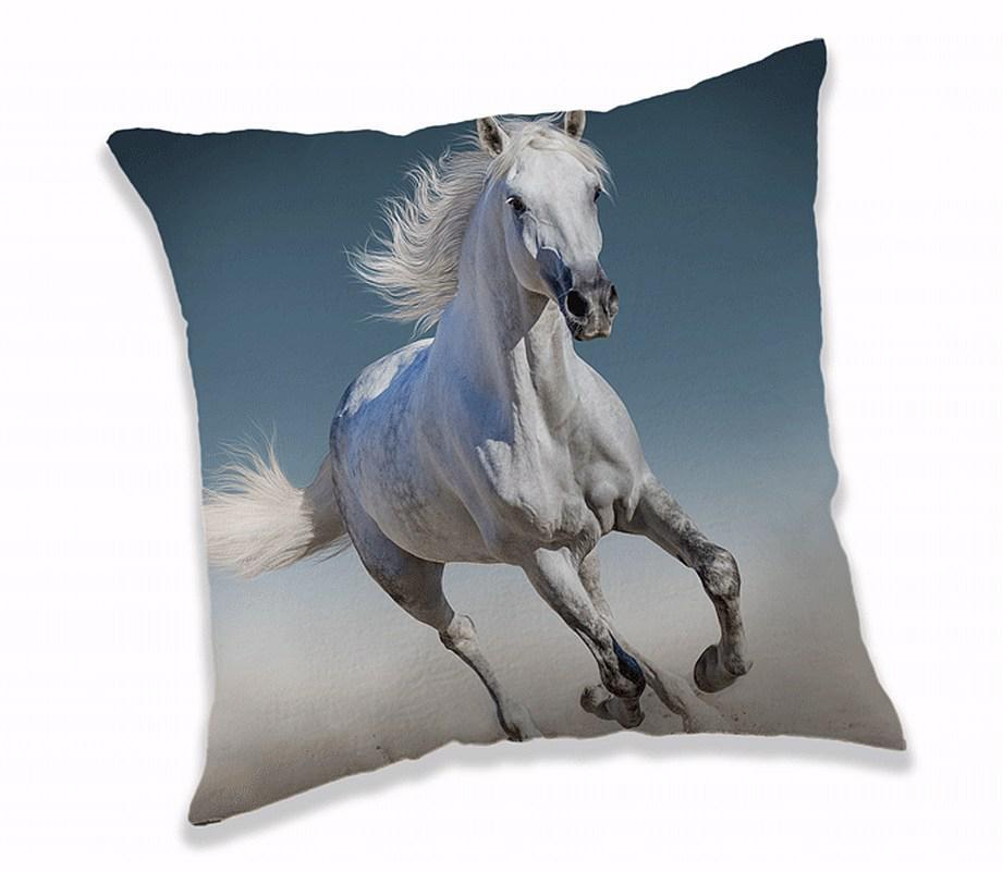 Polštářek White horse 40x40 cm