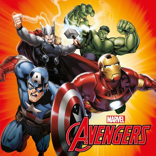 Polštářek Avengers 40x40 cm