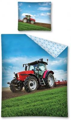 Povlečení Traktor 140x200, 70x80 cm