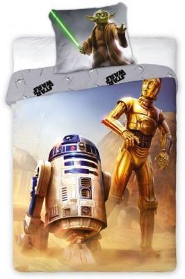 Povlečení Star Wars R2-D2 140/200, 70/90