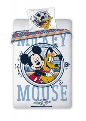 Povlečení do postýlky Mickey a Pluto 100x135, 40x60 cm