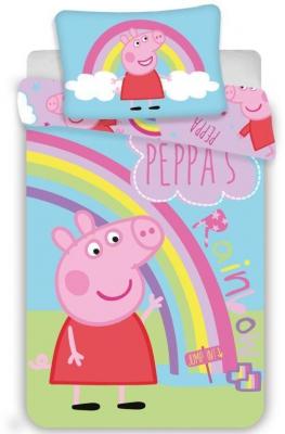 Povlečení do postýlky Peppa Pig 016 baby 100/135, 40/60
